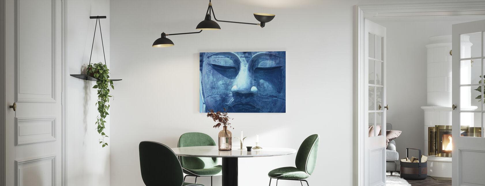 Buddha blu - Stampa su tela - Cucina