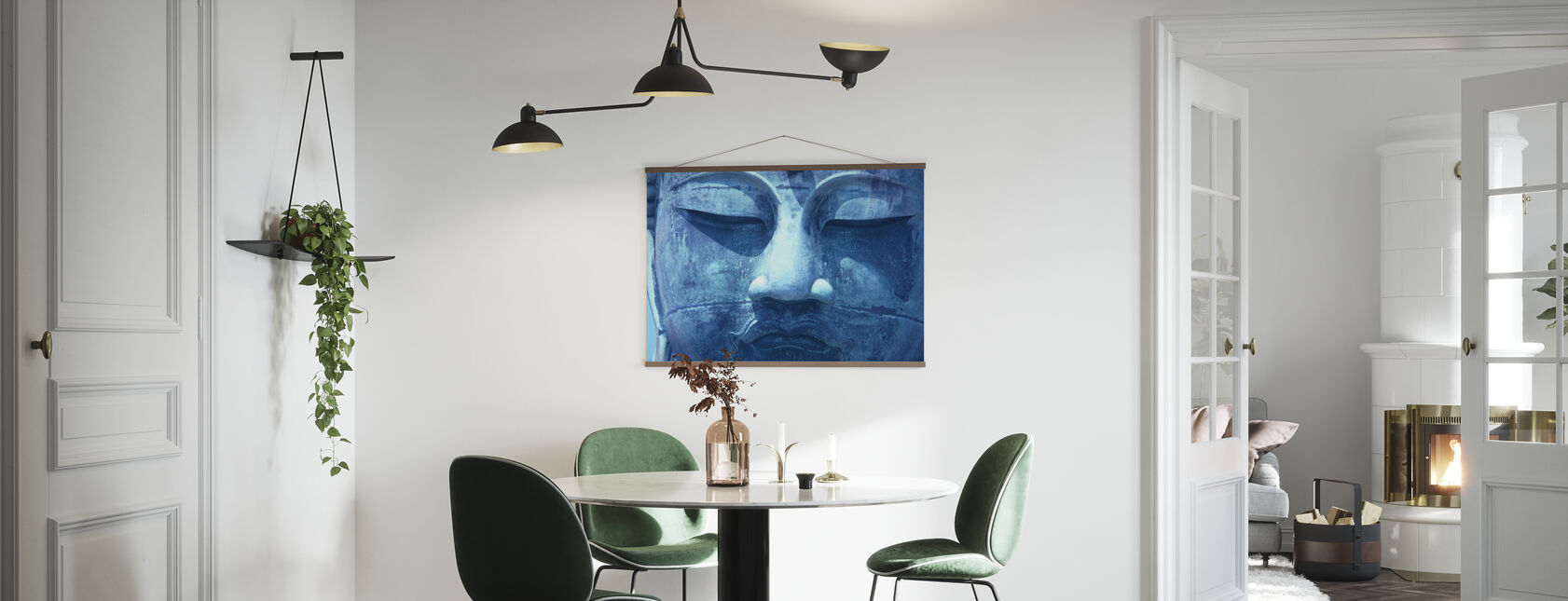 Blue Buddha - Poster - Kitchen