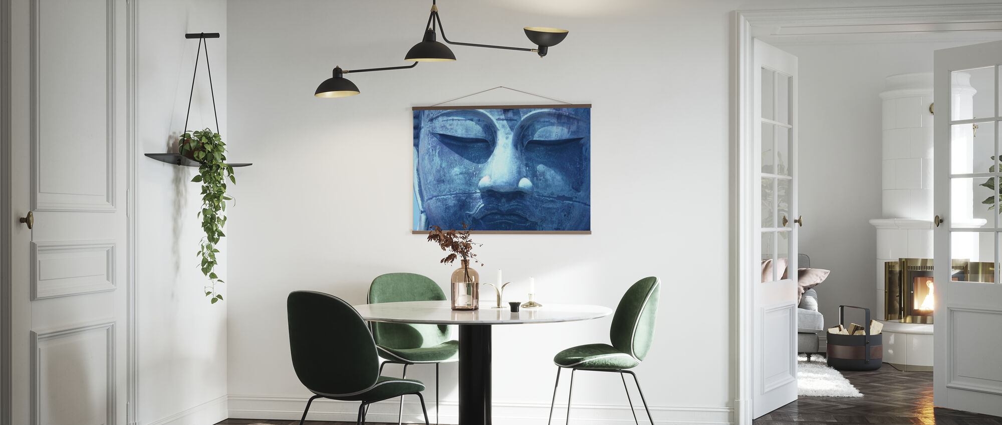 Blue Buddha - Poster - Kitchen