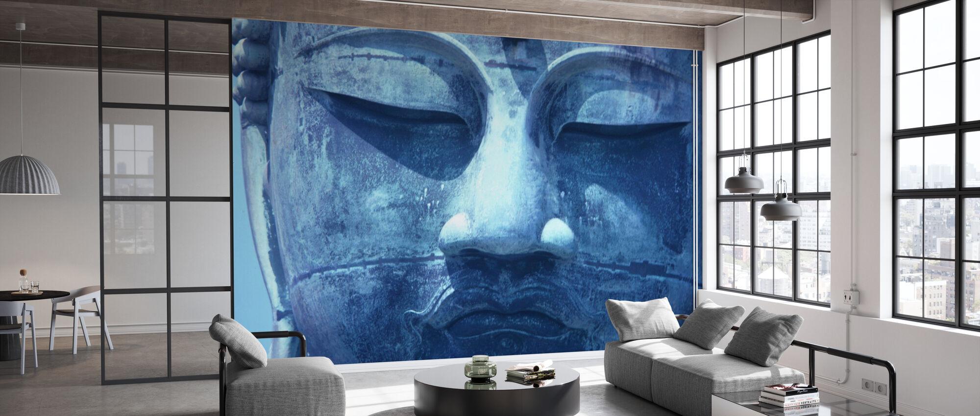 Blue Buddha - Wallpaper - Office