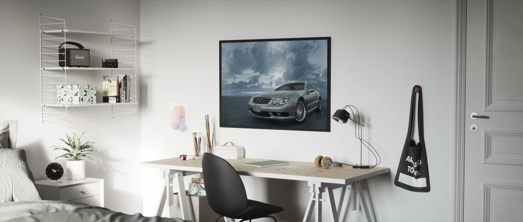 Mercedes-Benz SL55 - Plakat - Barnerom