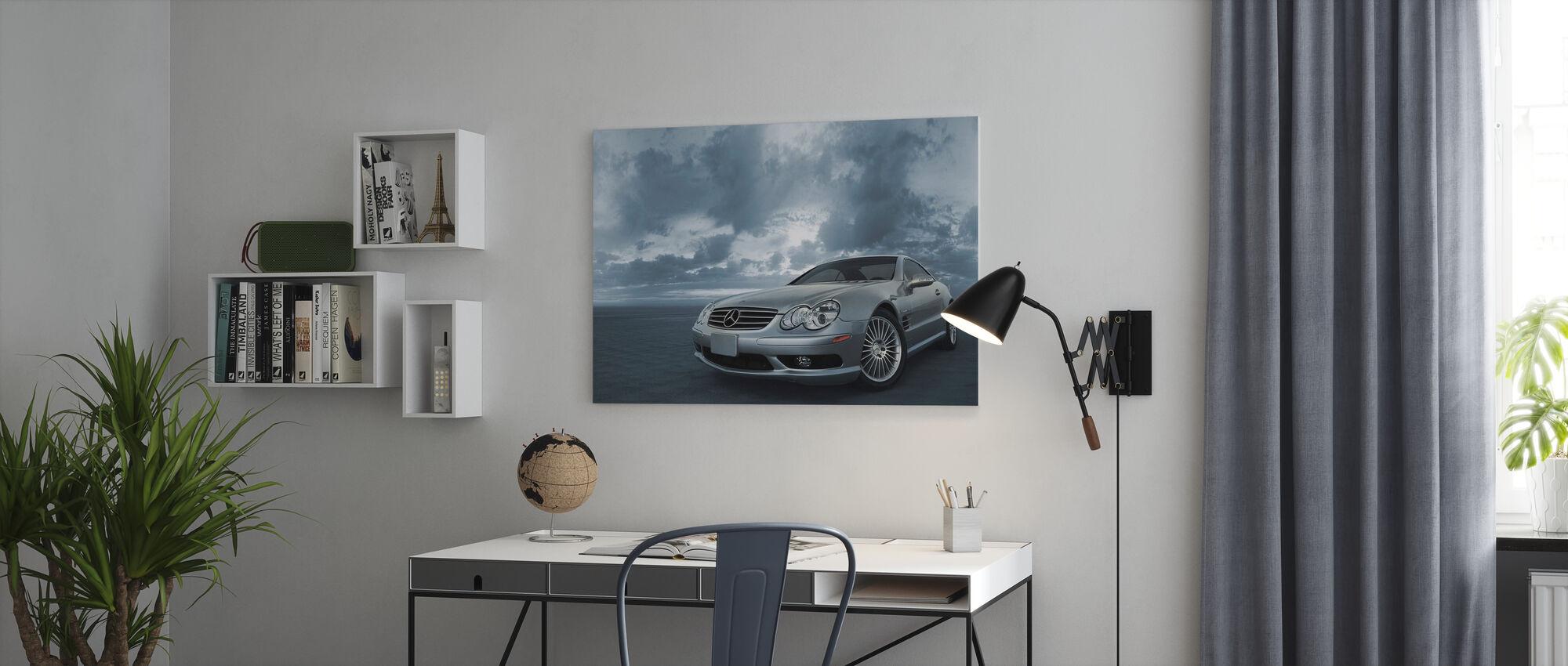 Mercedes-Benz SL55 - Canvas print - Office