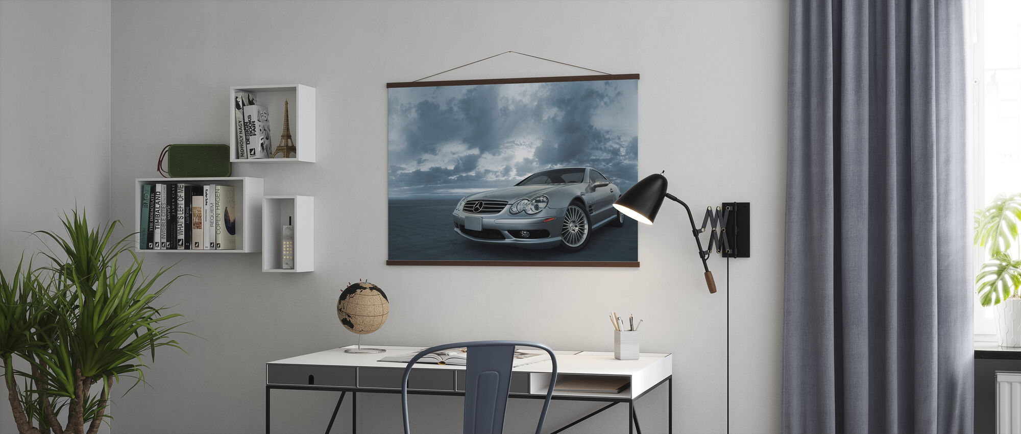 Mercedes-Benz SL55 - Poster - Kantoor