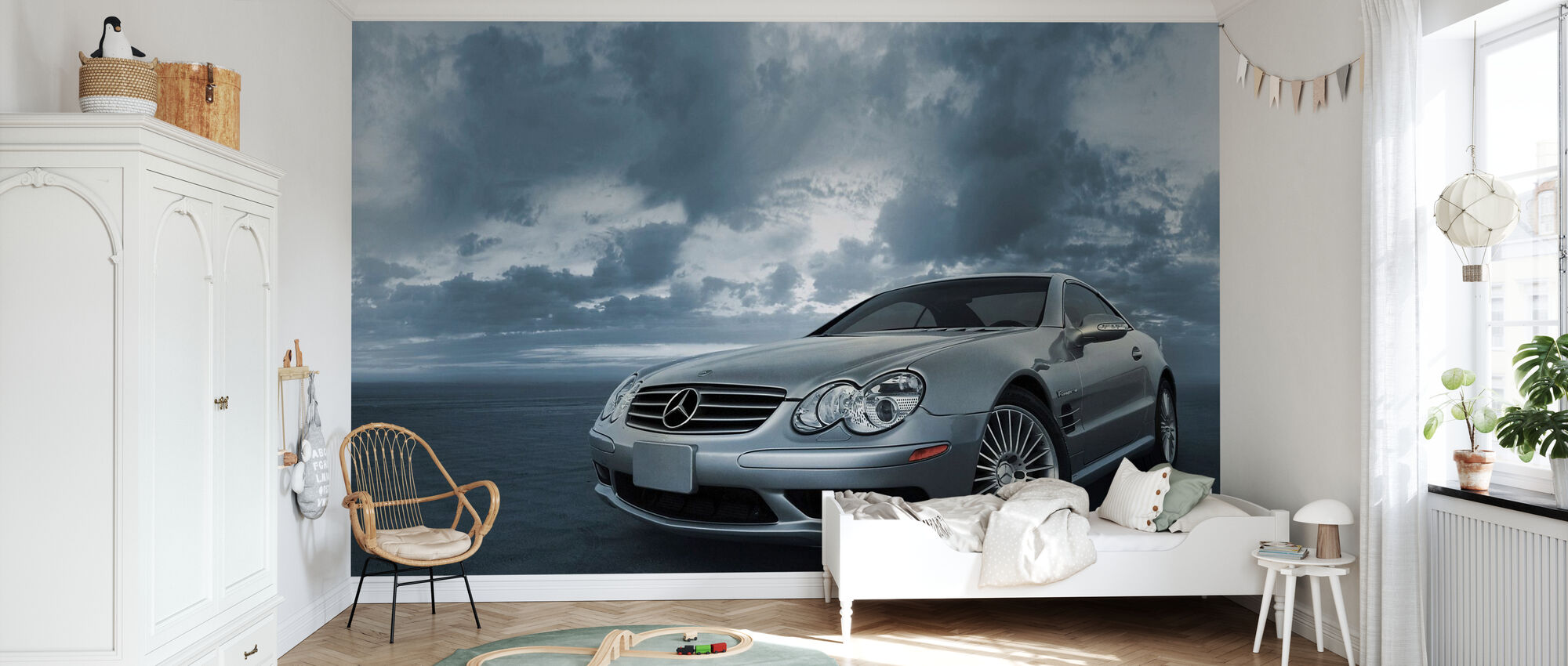 Mercedes-Benz SL55 - Behang - Kinderkamer