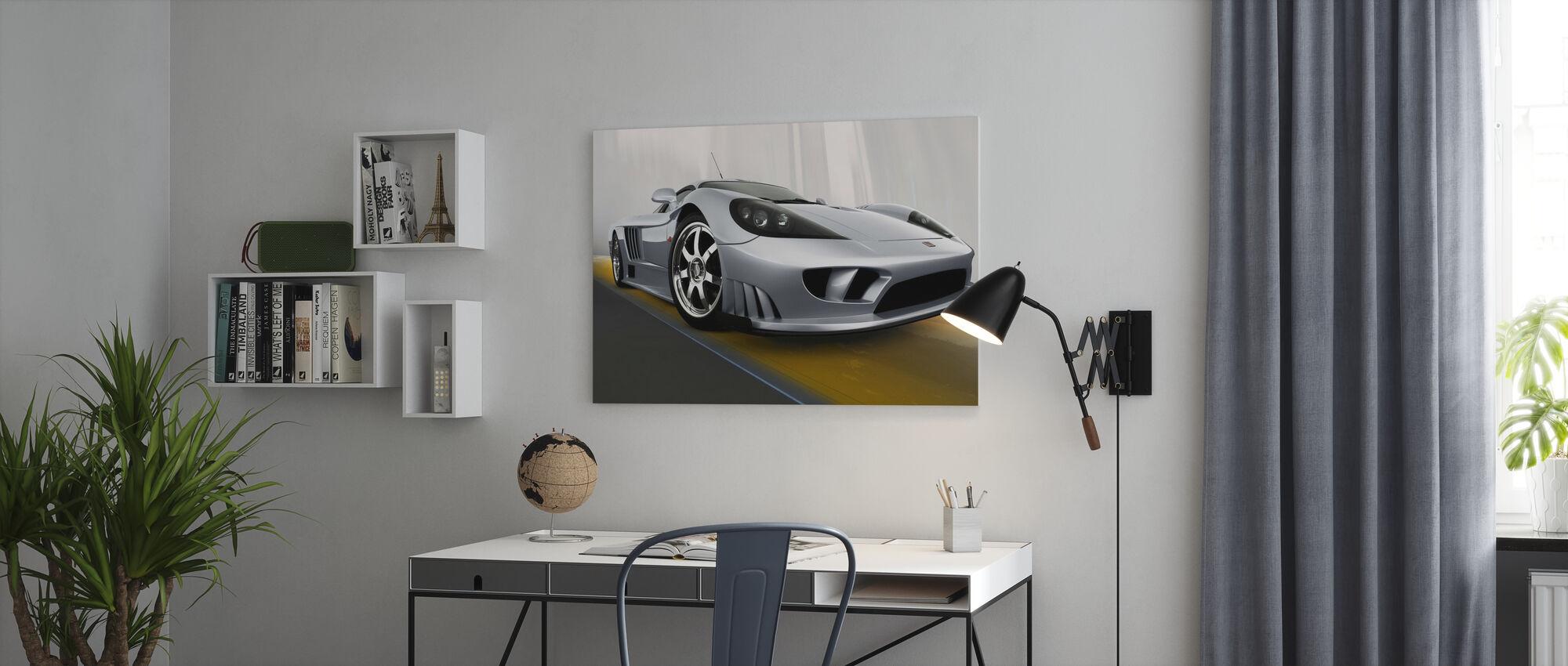 Saleen S7 - Canvas print - Kantoor