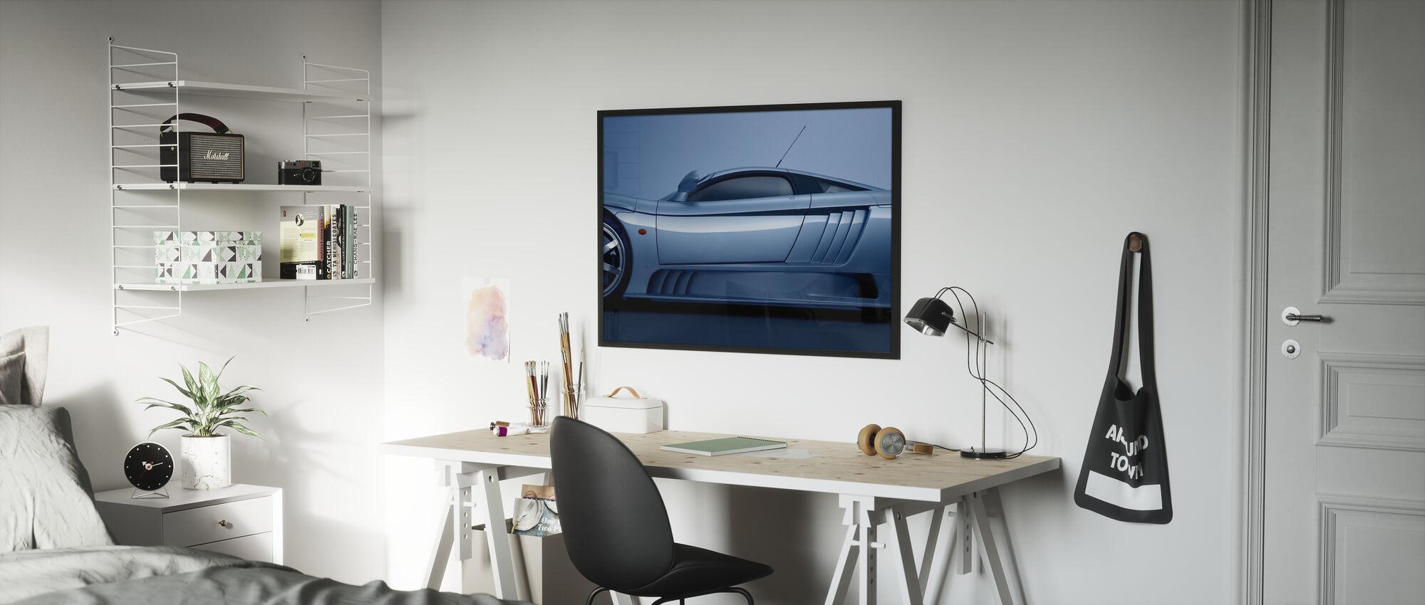 Saleen S7 Blue - Poster - Kids Room