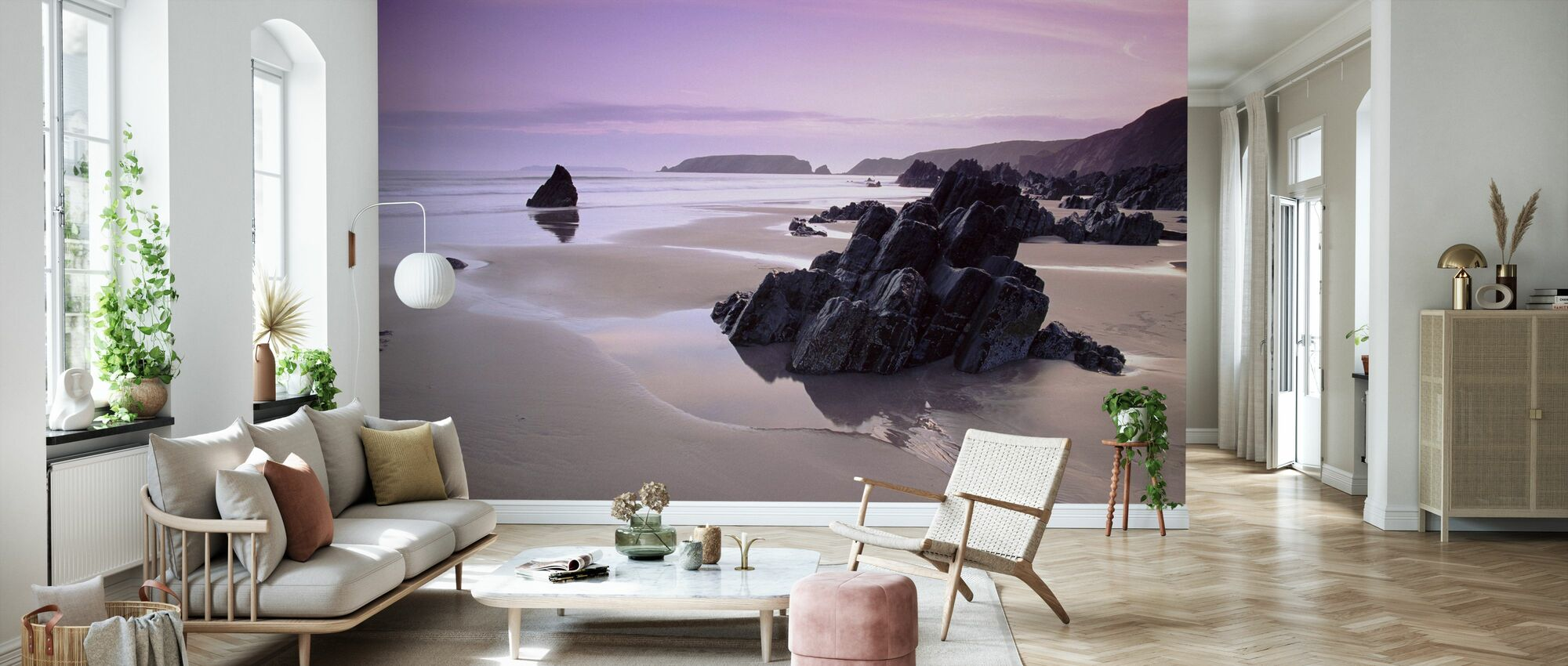 Pembrokeshire - Wallpaper - Living Room