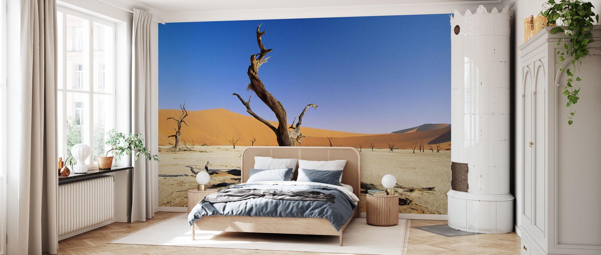 Namib-woestijn - Behang - Slaapkamer
