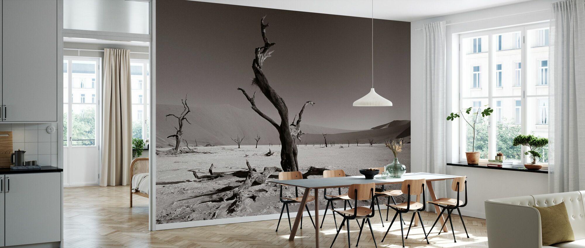 Namib Desert - Sepia - Wallpaper - Kitchen