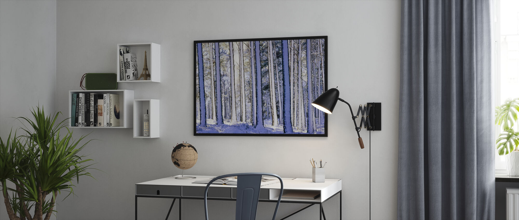 Winter Forest - Poster - Office