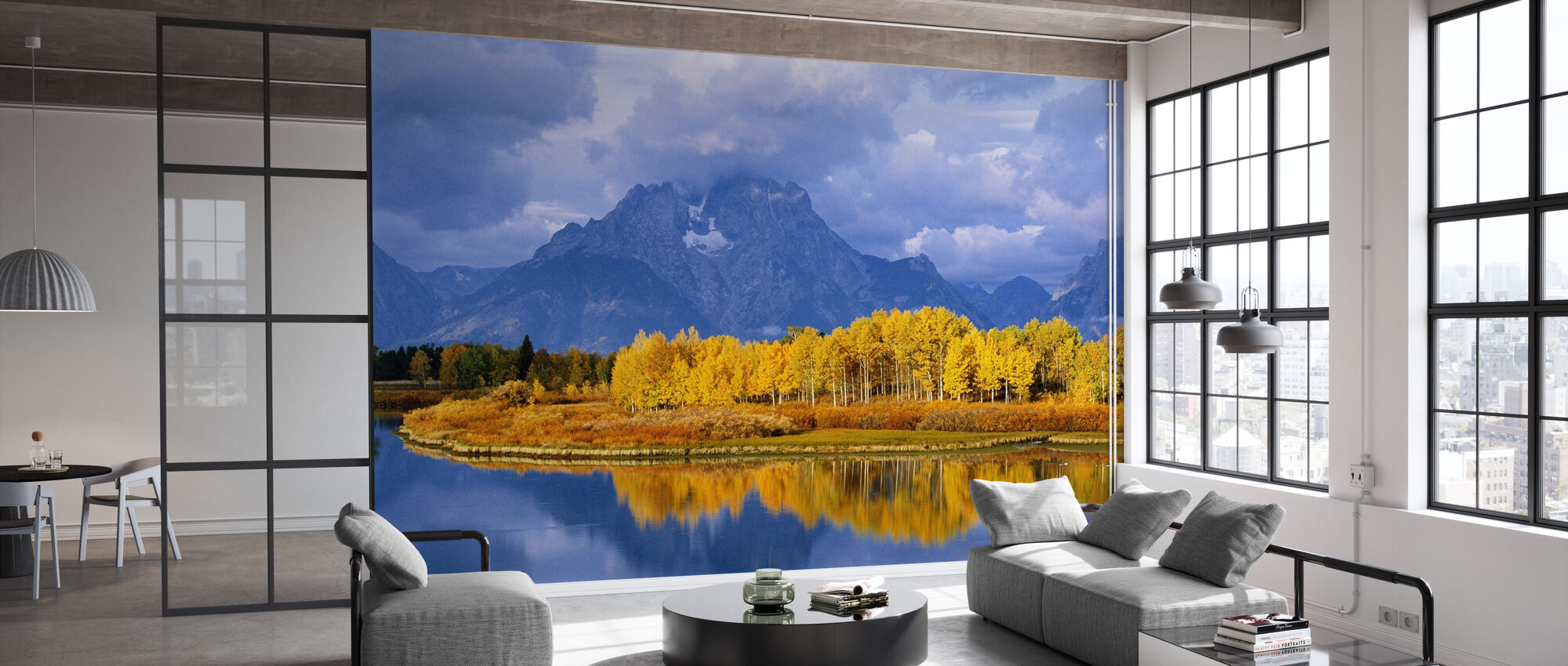 Grand Teton - Wallpaper - Office