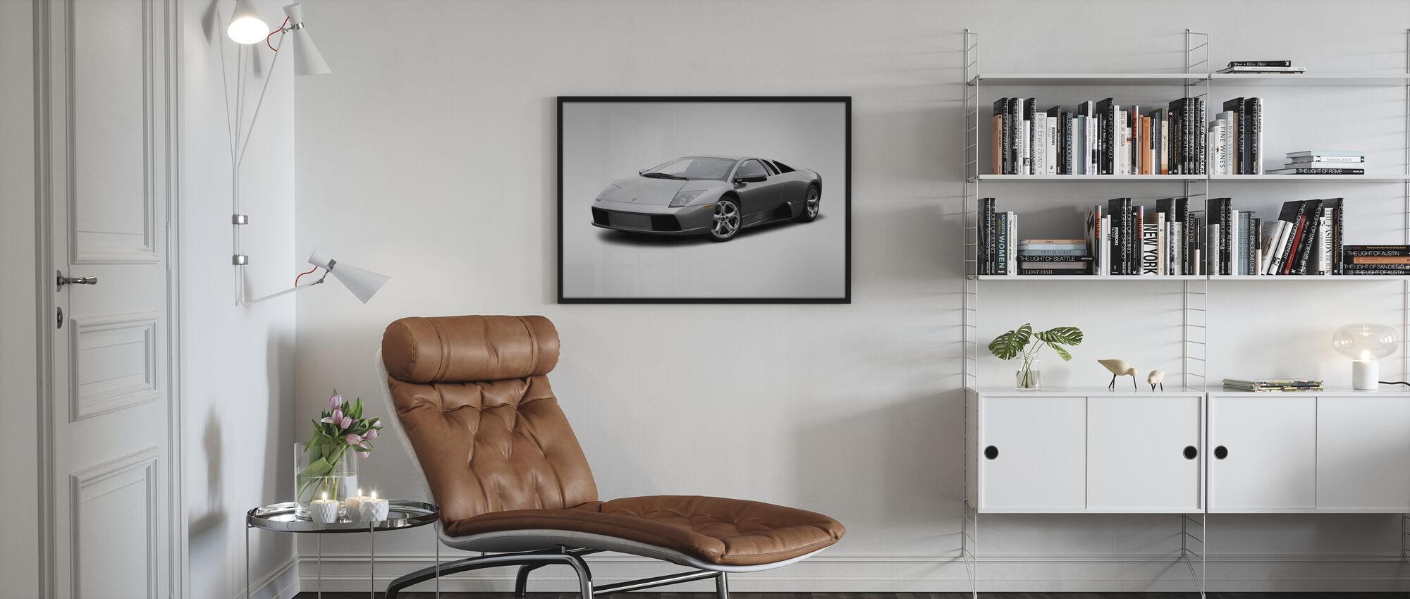 Lamborghini - Kehystetty kuva - Olohuone
