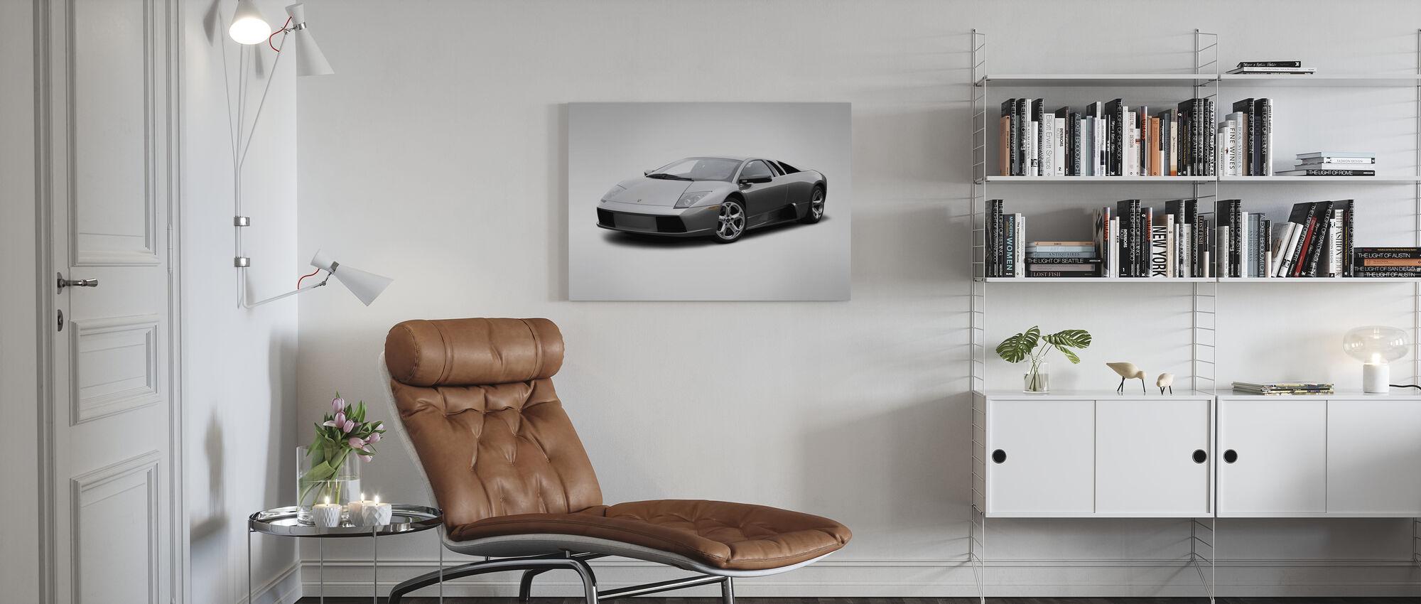 Lamborghini - Impression sur toile - Salle à manger