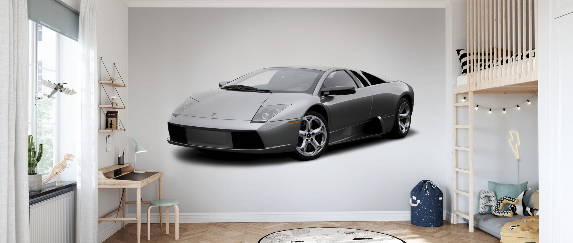 Lamborghini - Tapet - Børneværelse