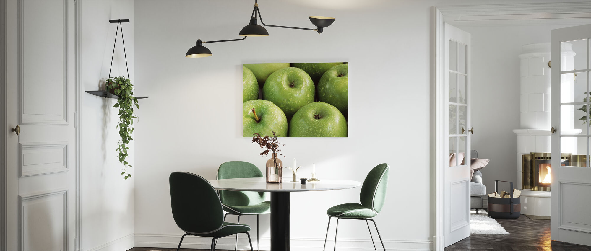 Apples - Canvas print - Kitchen