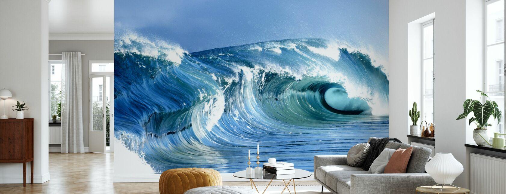 Jarvis Wave - Wallpaper - Living Room