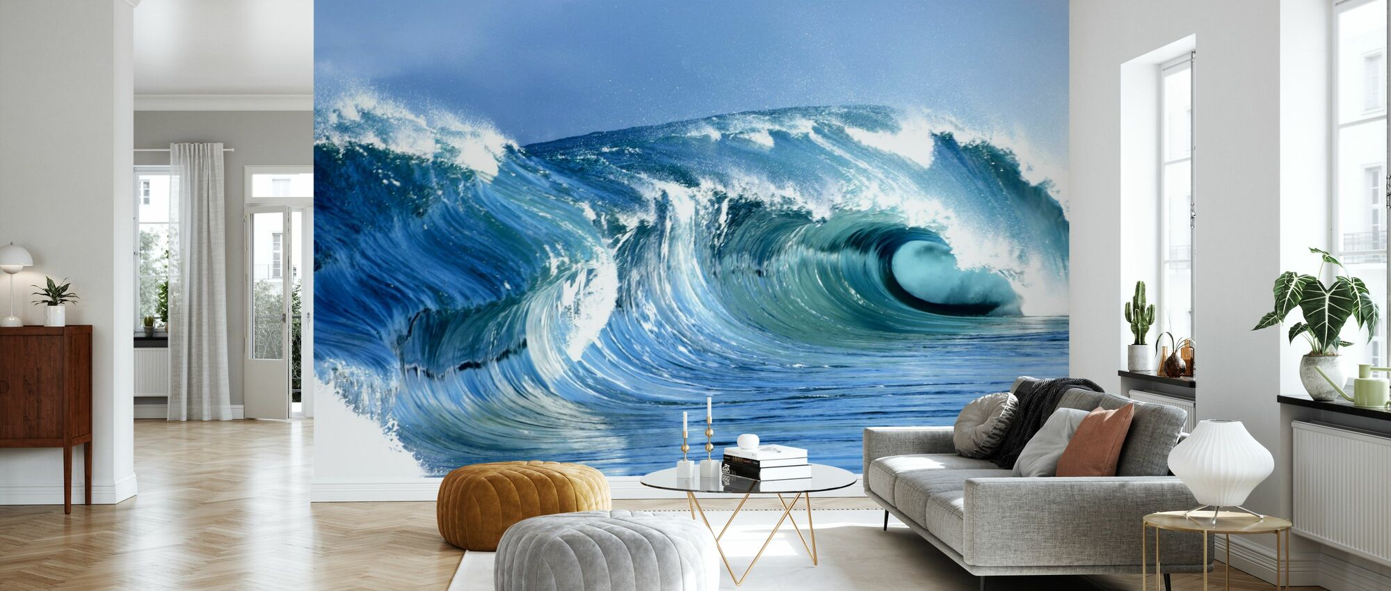 Jarvis Wave - Wallpaper - Living Room