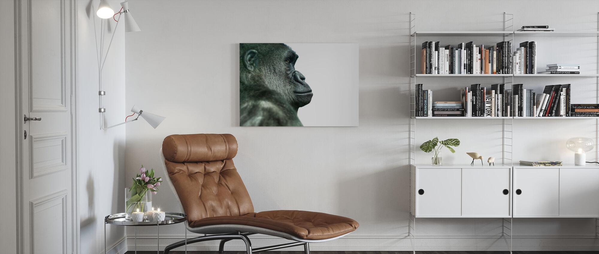 Gorille - Impression sur toile - Salle à manger