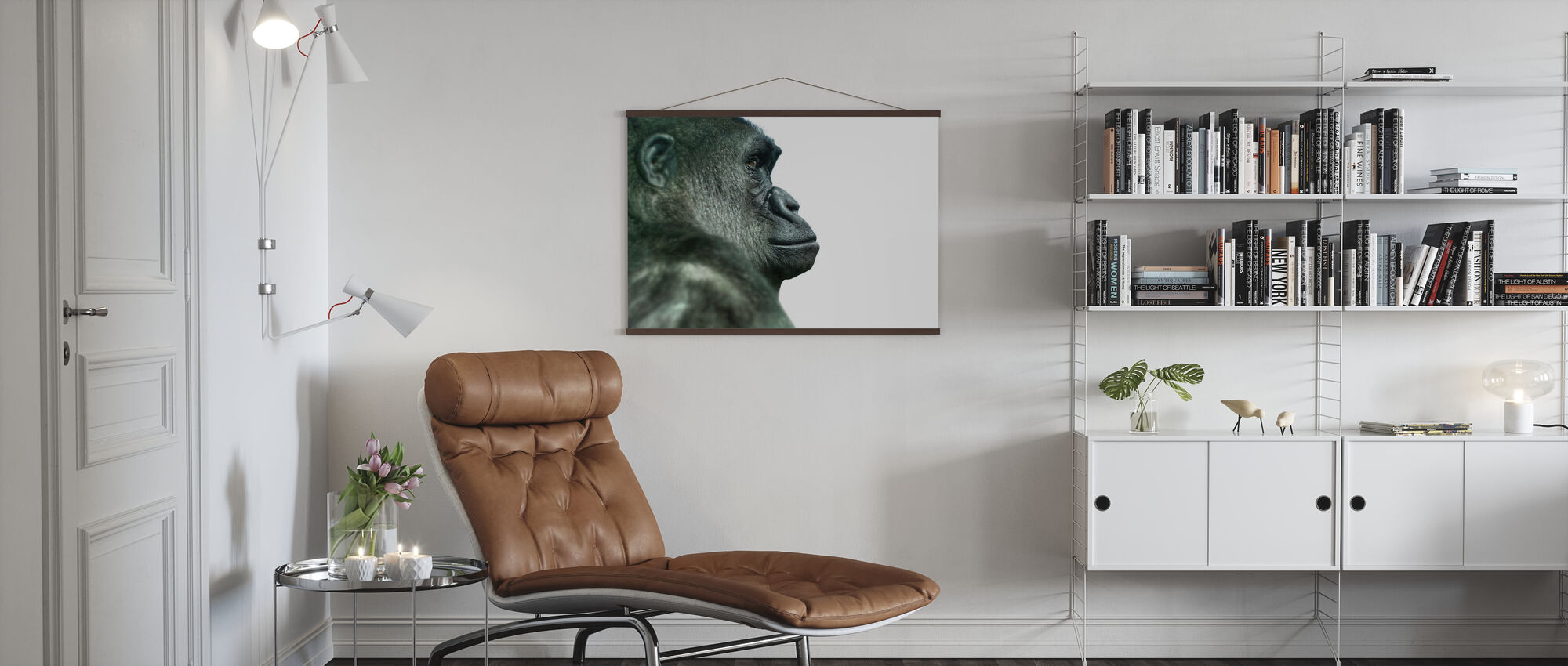 Gorilla - Poster - Living Room