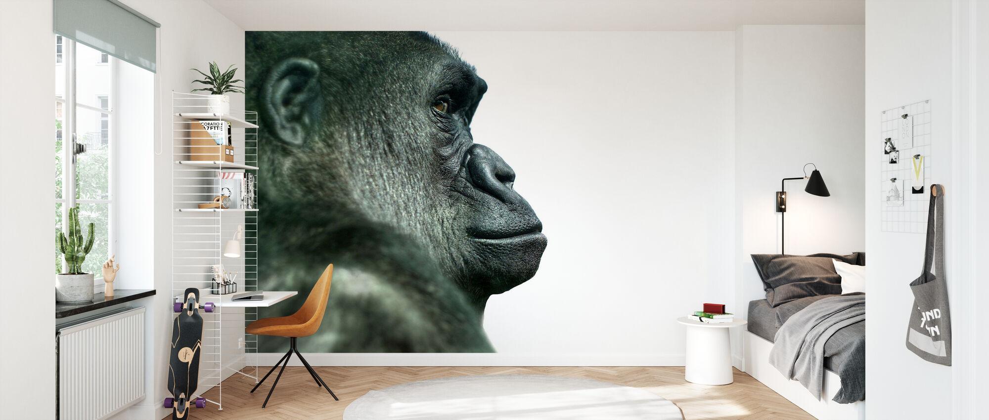Gorilla - Wallpaper - Kids Room