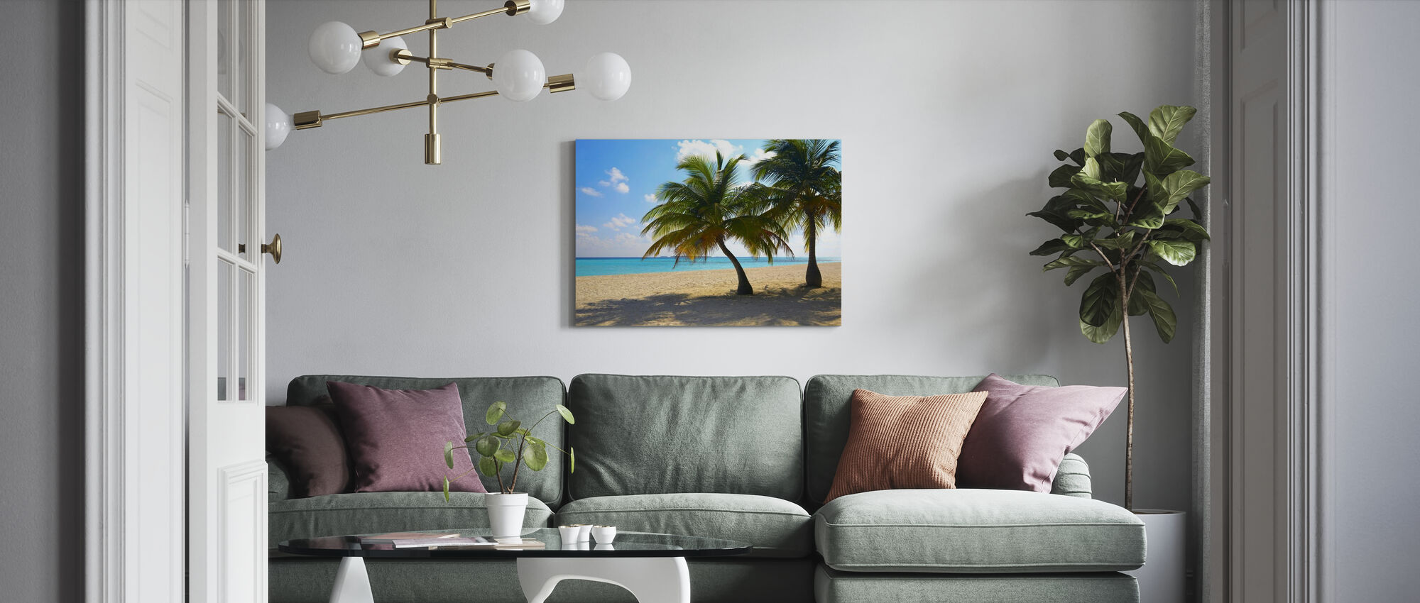 Maldives - Leinwandbild - Wohnzimmer