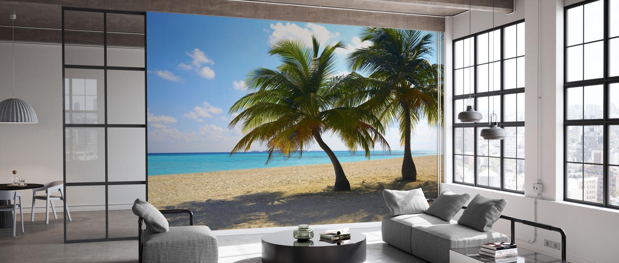 Maldives - Behang - Kantoor