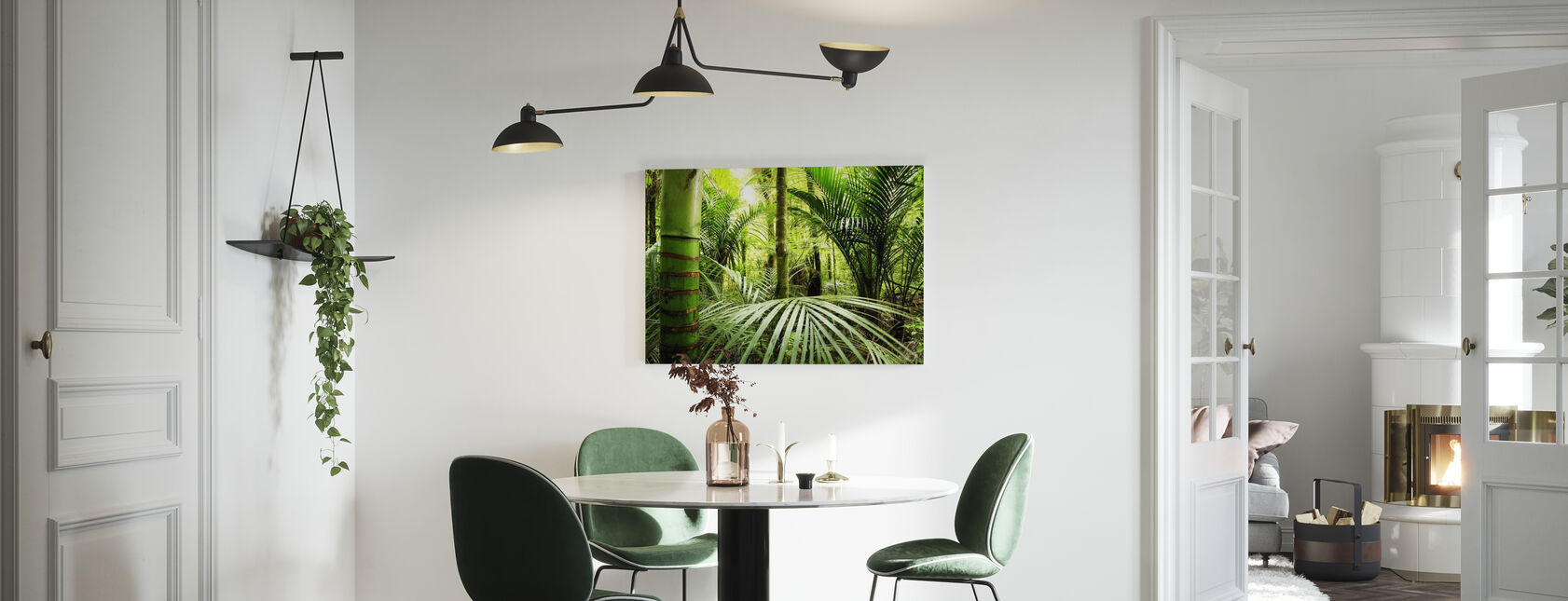 Vegetation - Canvas print - Kitchen