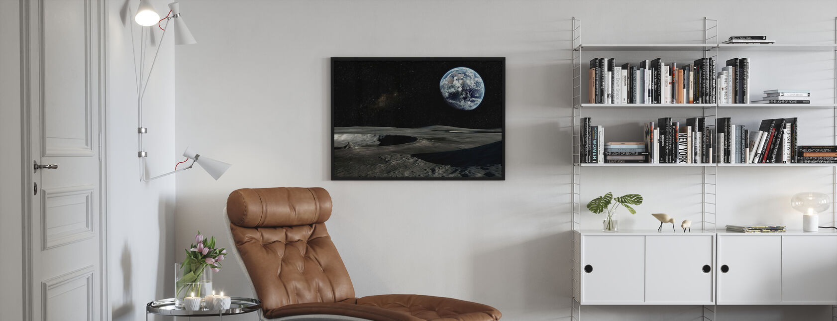 New Perspective - Framed print - Living Room