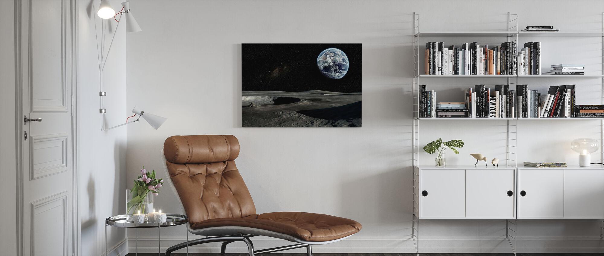 Nieuw perspectief - Canvas print - Woonkamer