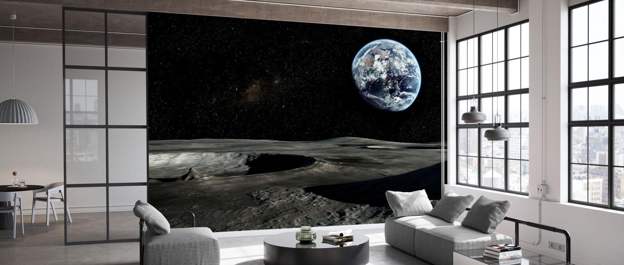 Nieuw perspectief - Behang - Kantoor