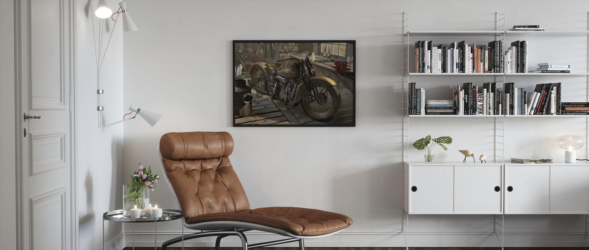 Old Barn - Framed print - Living Room