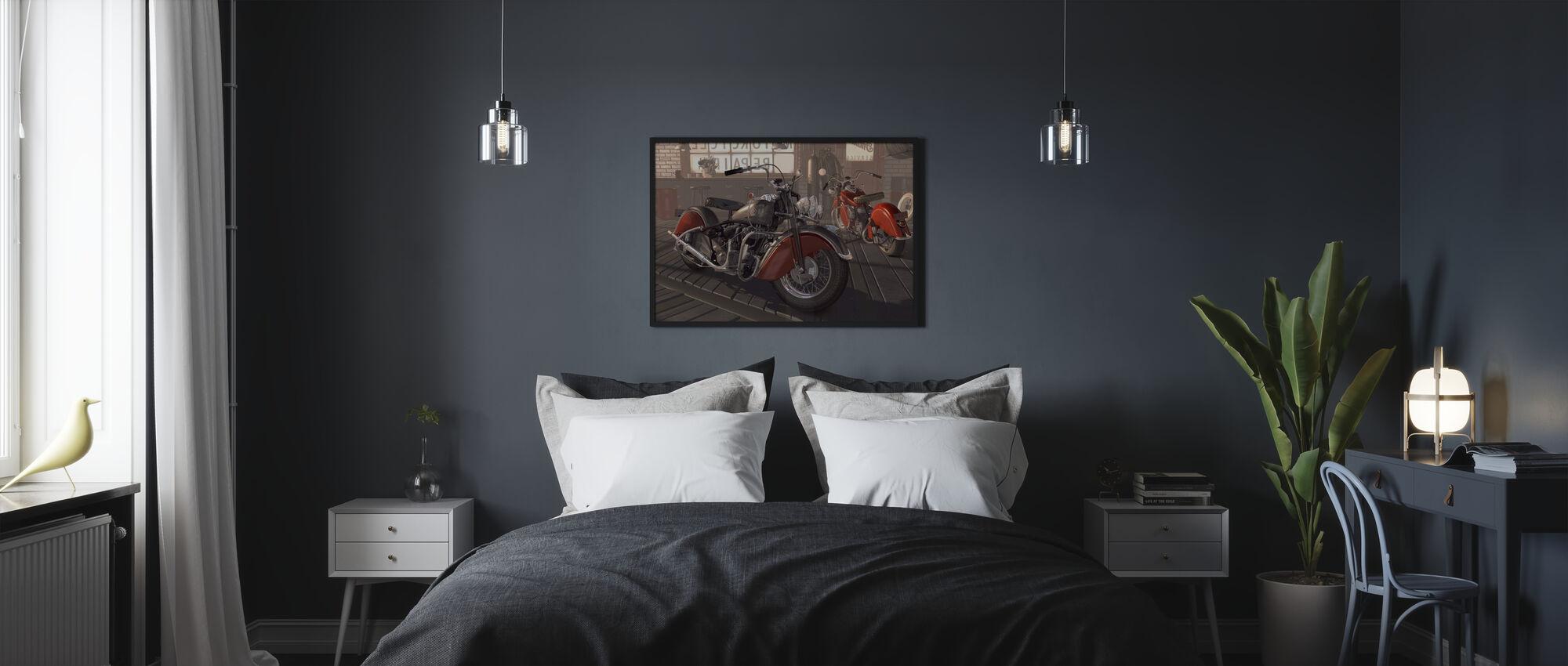 Indian Tipi - Poster - Bedroom