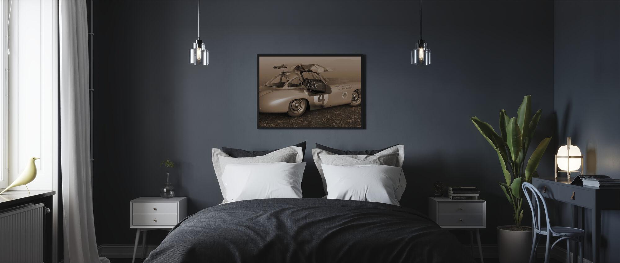 C Pan-American Sepia - Poster - Bedroom