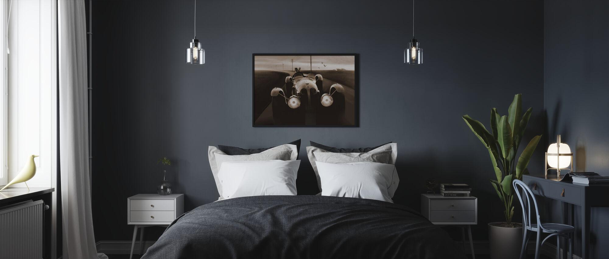 Templars Hirondel Sepia - Poster - Bedroom
