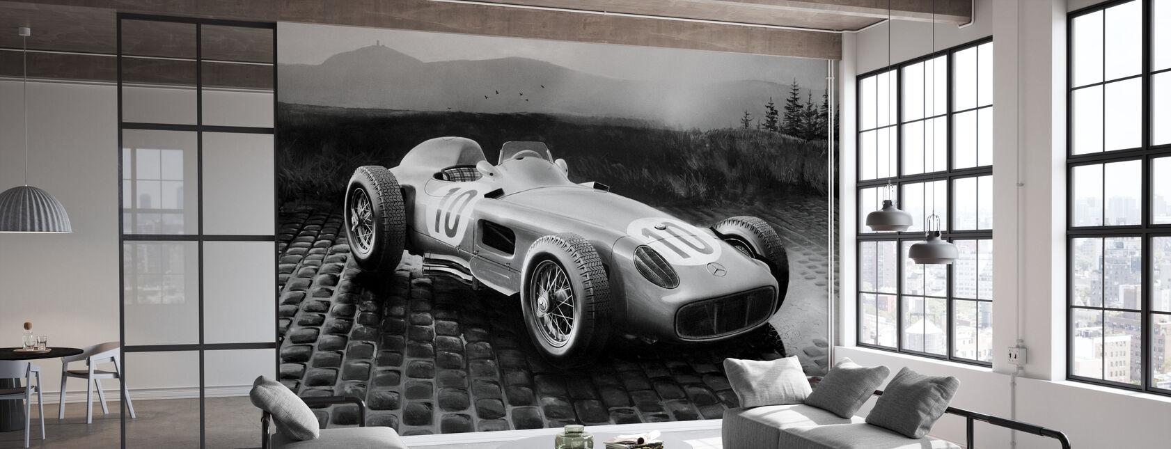 Auto 1954 BW - Carta da parati - Uffici