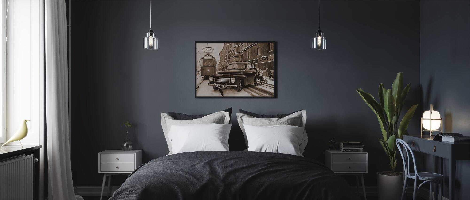 PV In Stockholm, Sweden - Poster - Bedroom