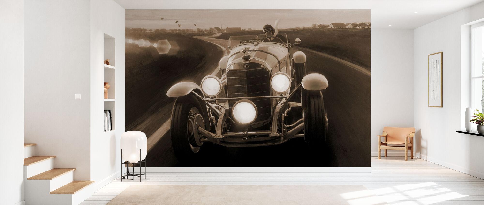 SSK Sepia - Wallpaper - Hallway