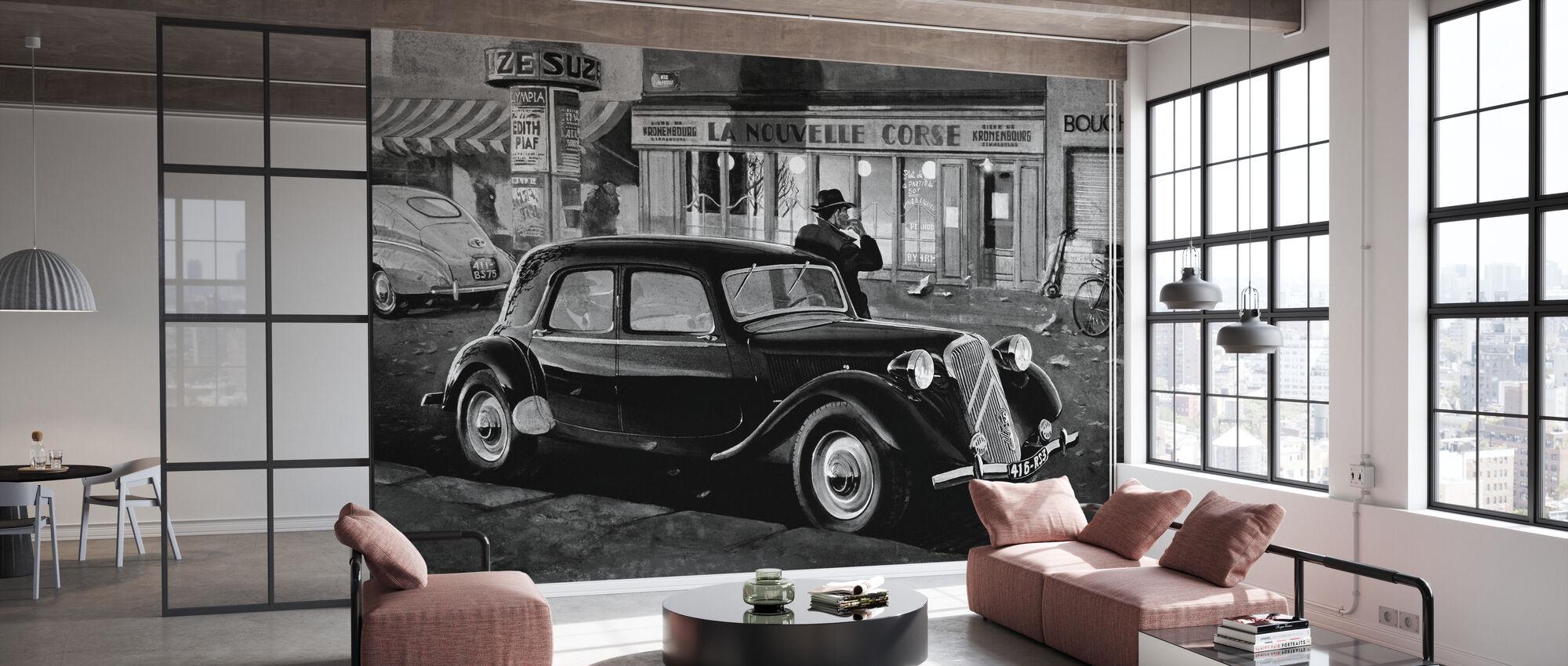 B15 in Paris BW - Wallpaper - Office