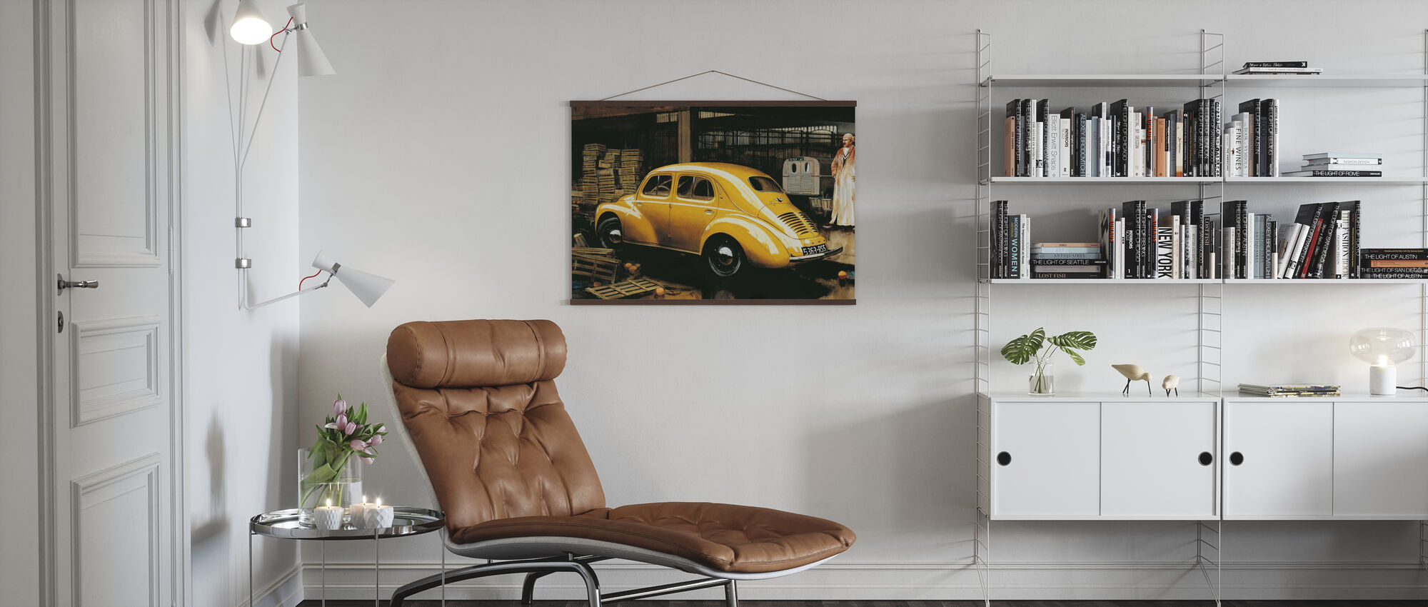 Classic Car - Poster - Living Room