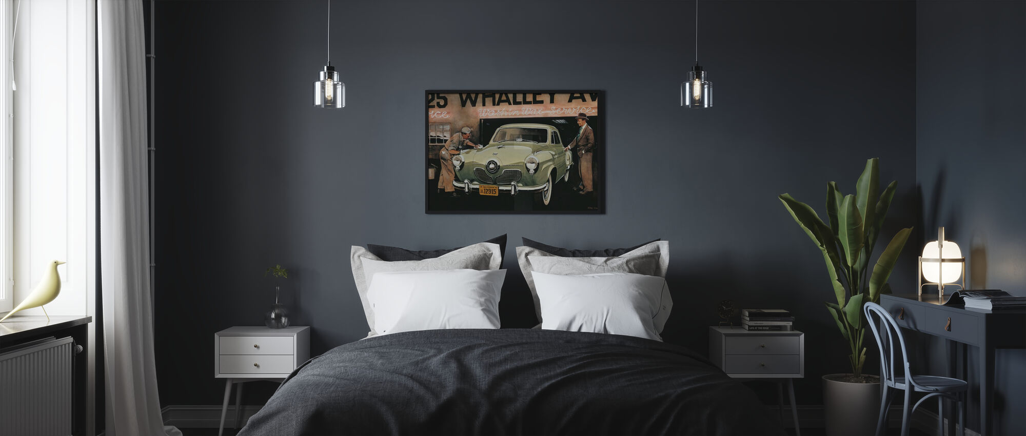 American SC - Poster - Bedroom