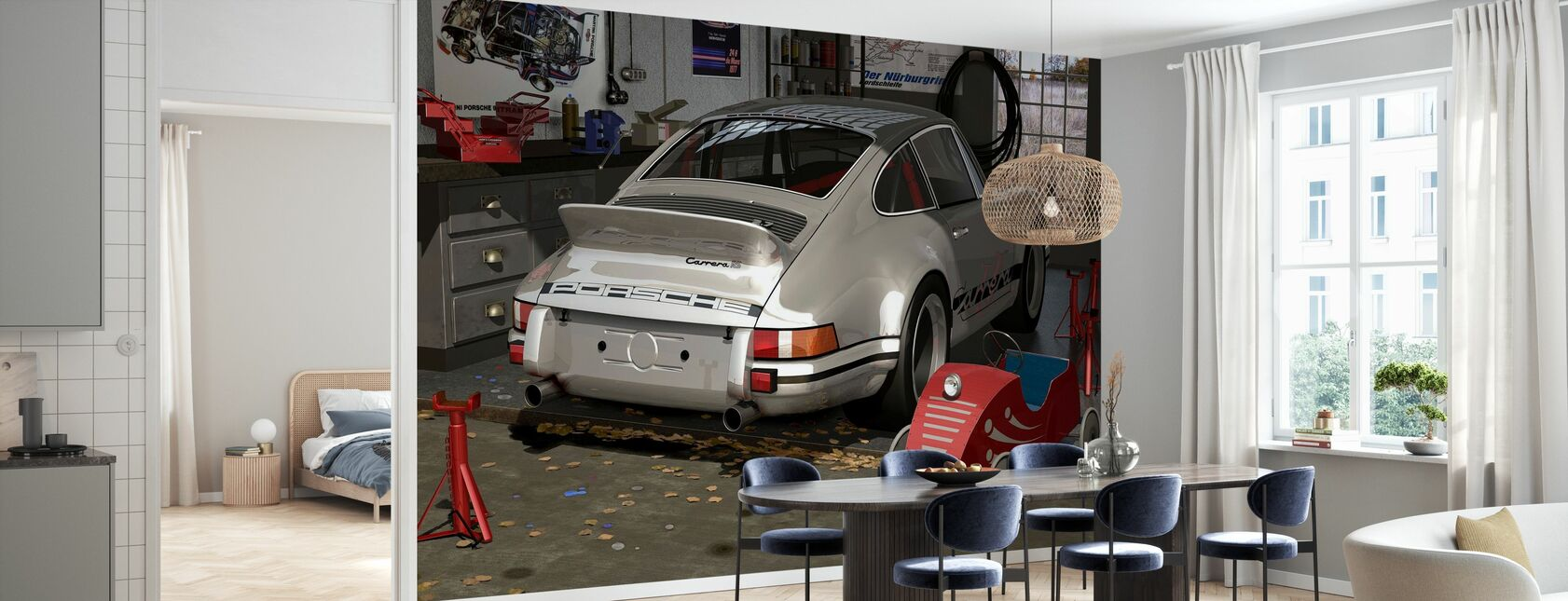 My first and second car - Wallpaper - Kitchen