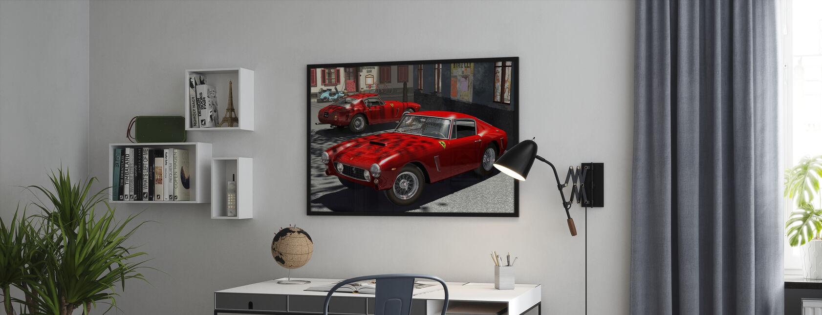 Klassisk sportsvogn - Plakat - Kontor
