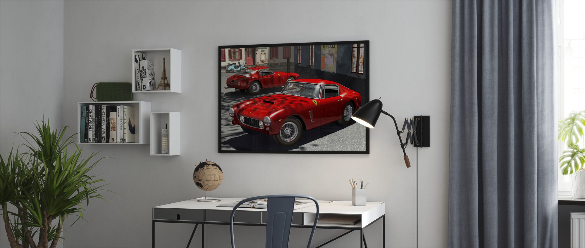 Classic Sports Car - Poster - Office