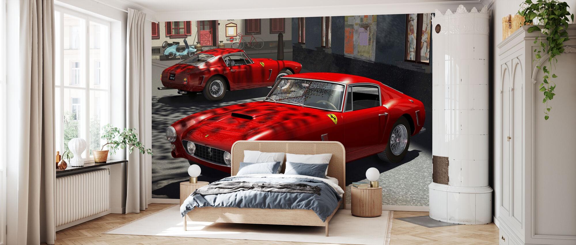 Classic Sports Car - Wallpaper - Bedroom
