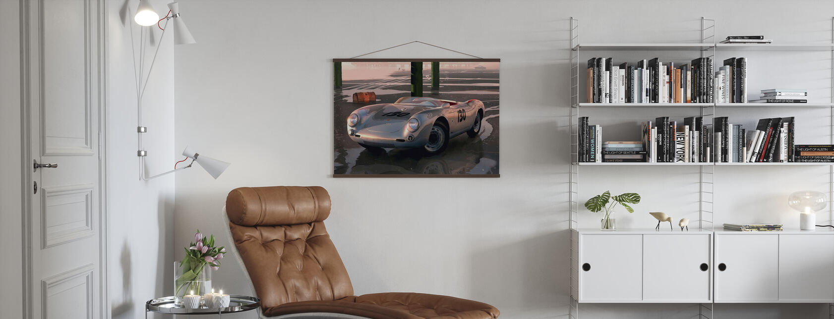 Jimmys auto - Poster - Woonkamer