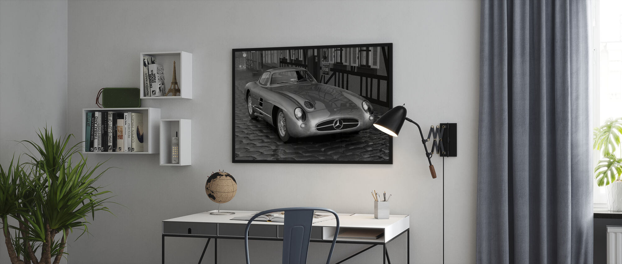Shiny 300 BW - Poster - Office
