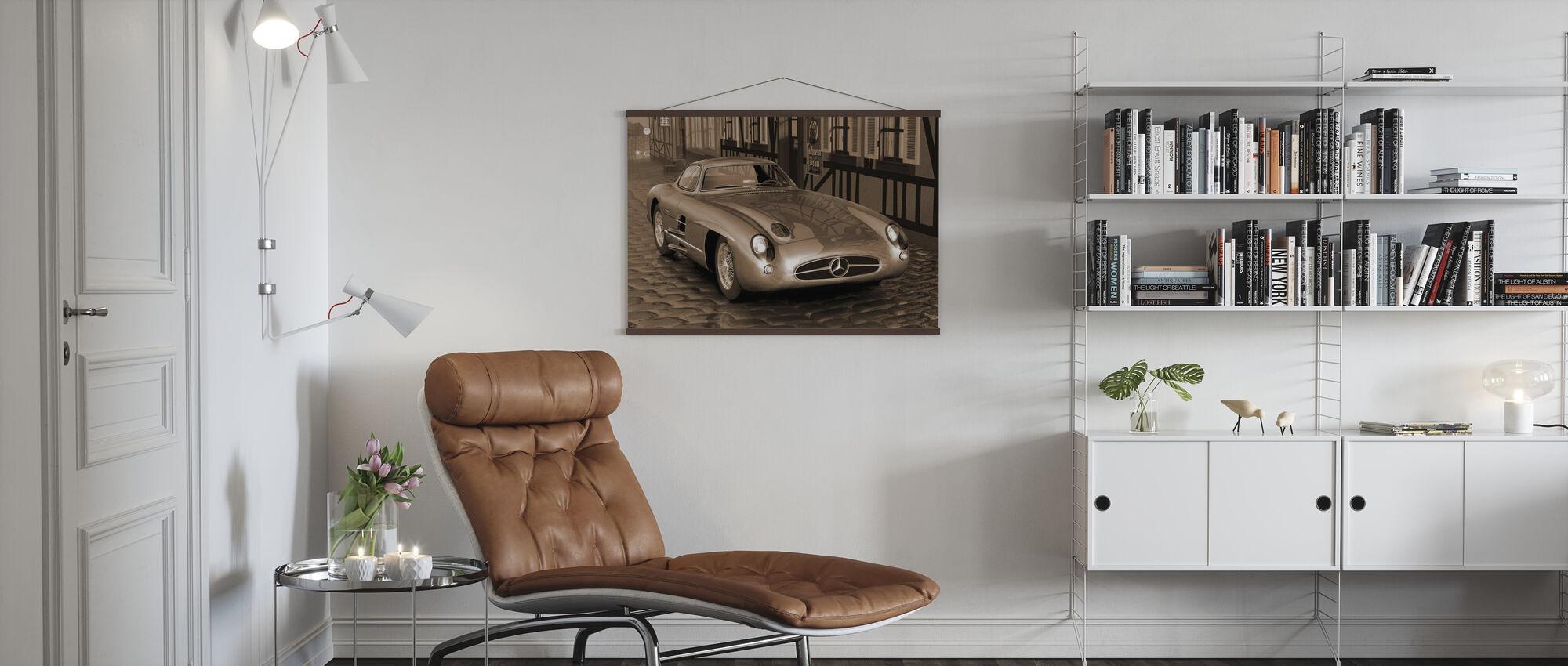 Shiny 300 Sepia - Poster - Living Room