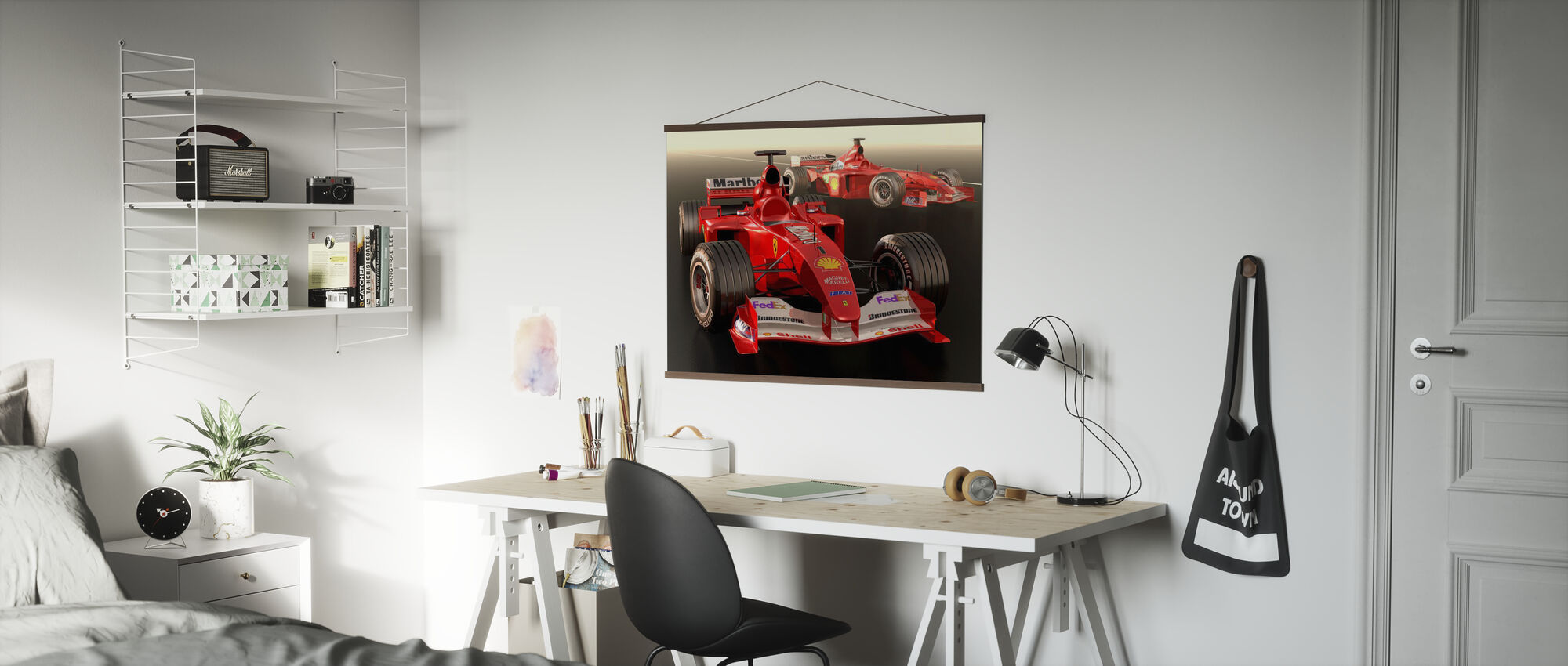 Classic Racing Car - Poster - Office