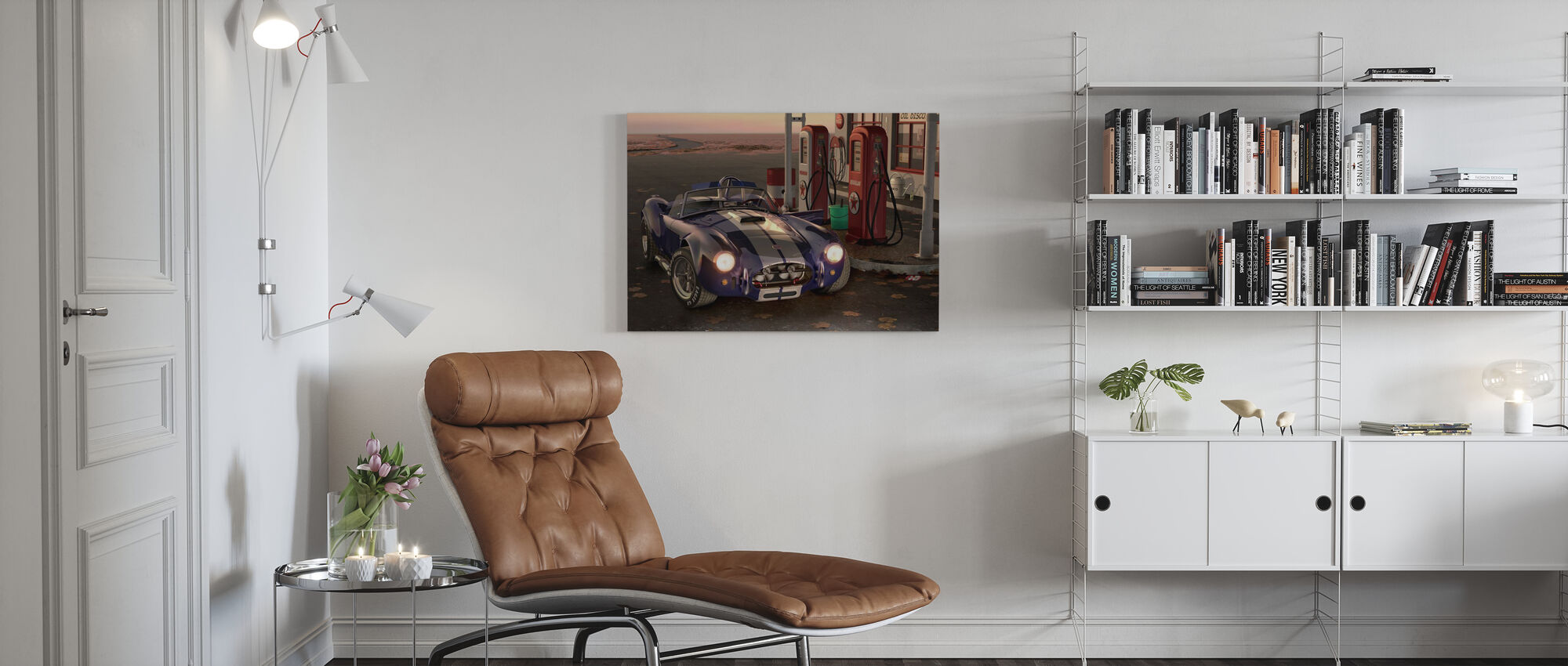 Gas Stop - Canvas print - Woonkamer