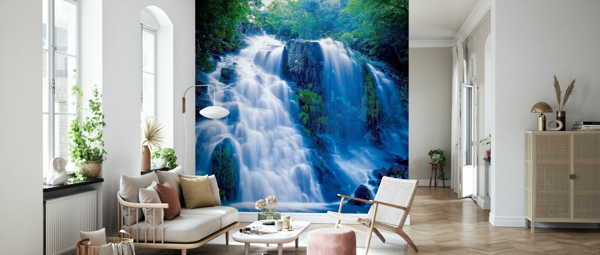 Nature Scenery - Wallpaper - Living Room